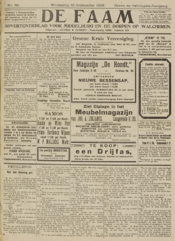 de Faam en de Faam/de Vlissinger 1923-09-12