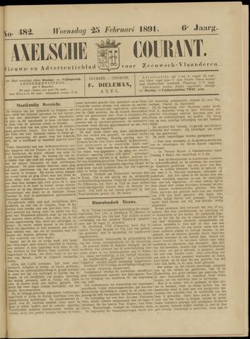 Axelsche Courant 1891-02-25