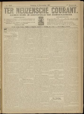 Ter Neuzensche Courant. Algemeen Nieuws- en Advertentieblad voor Zeeuwsch-Vlaanderen / Neuzensche Courant ... (idem) / (Algemeen) nieuws en advertentieblad voor Zeeuwsch-Vlaanderen 1917-12-04