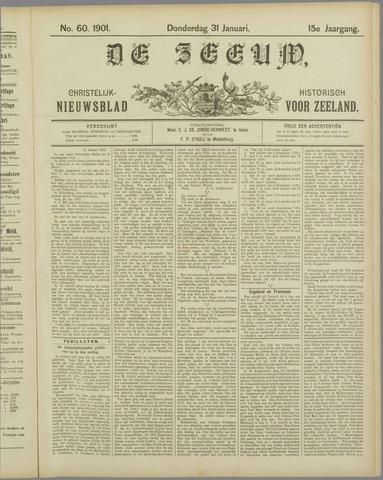 De Zeeuw. Christelijk-historisch nieuwsblad voor Zeeland 1901-01-31