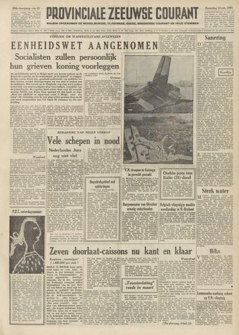Provinciale Zeeuwse Courant 1961-01-14