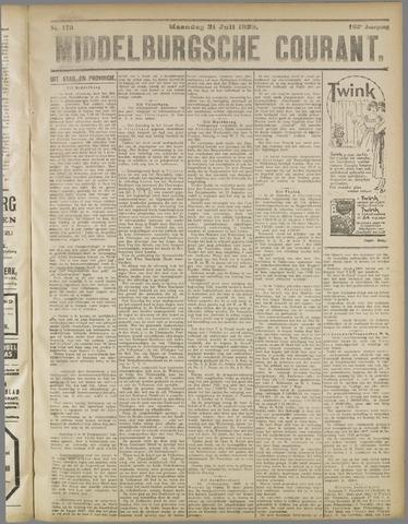 Middelburgsche Courant 1922-07-31