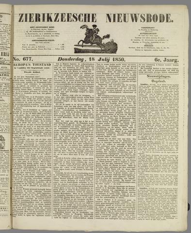 Zierikzeesche Nieuwsbode 1850-07-18