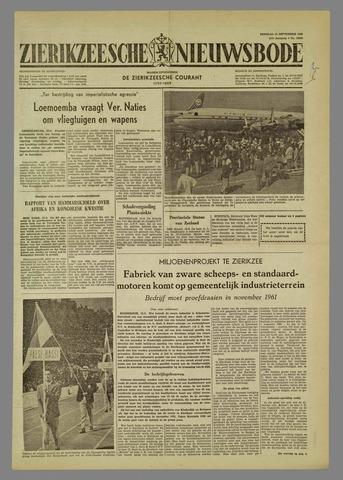 Zierikzeesche Nieuwsbode 1960-09-13