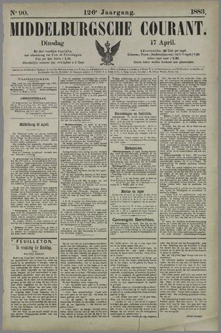 Middelburgsche Courant 1883-04-17