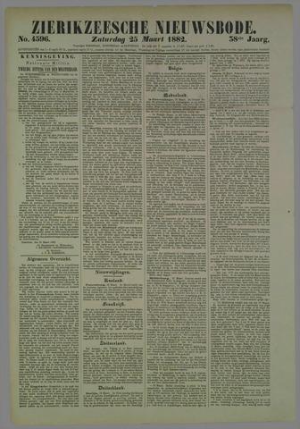 Zierikzeesche Nieuwsbode 1882-03-25