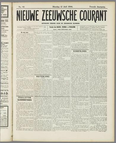 Nieuwe Zeeuwsche Courant 1906-07-17