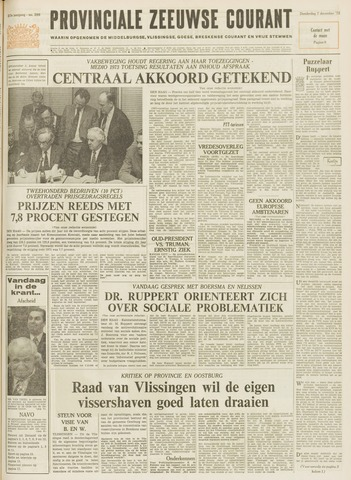 Provinciale Zeeuwse Courant 1972-12-07