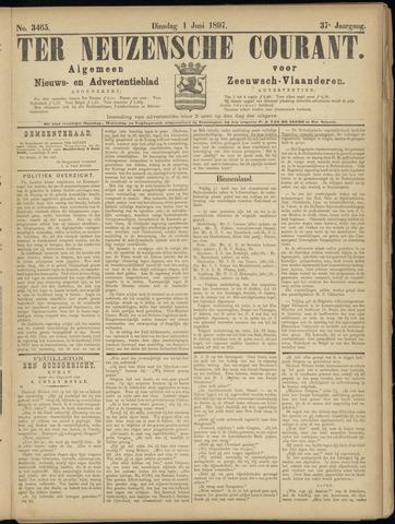 Ter Neuzensche Courant. Algemeen Nieuws- en Advertentieblad voor Zeeuwsch-Vlaanderen / Neuzensche Courant ... (idem) / (Algemeen) nieuws en advertentieblad voor Zeeuwsch-Vlaanderen 1897-06-01