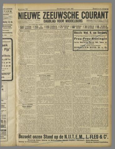 Nieuwe Zeeuwsche Courant 1921-07-07