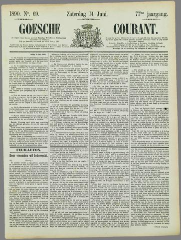 Goessche Courant 1890-06-14