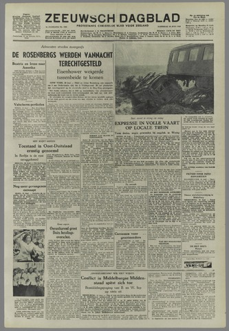 Zeeuwsch Dagblad 1953-06-20