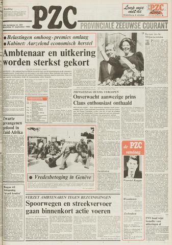 Provinciale Zeeuwse Courant 1983-09-21