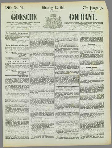 Goessche Courant 1890-05-13