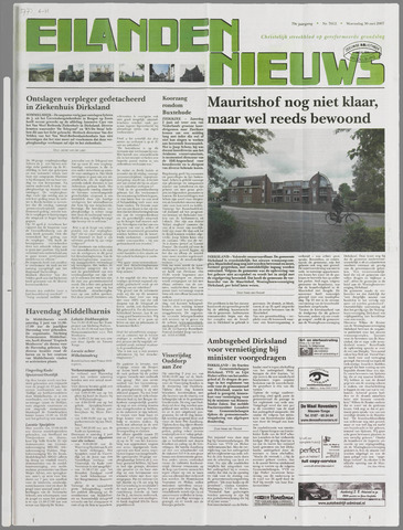 Eilanden-nieuws. Christelijk streekblad op gereformeerde grondslag 2007-05-30