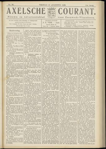 Axelsche Courant 1939-08-11