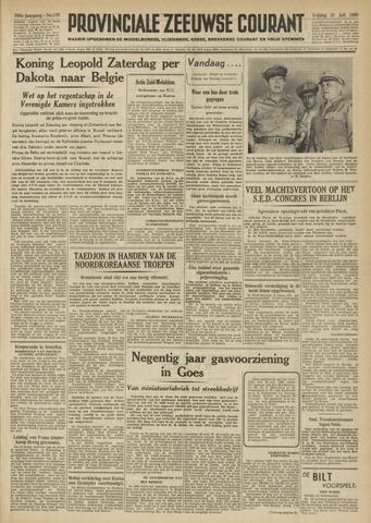 Provinciale Zeeuwse Courant 1950-07-21