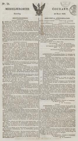 Middelburgsche Courant 1829-03-28