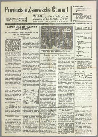 Provinciale Zeeuwse Courant 1940-06-28