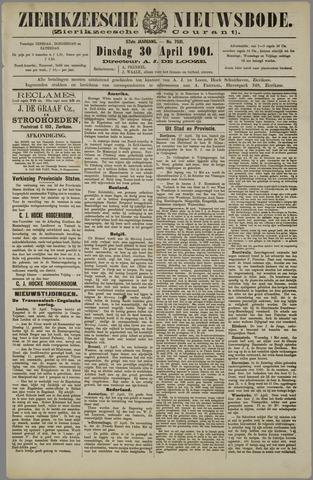 Zierikzeesche Nieuwsbode 1901-04-30