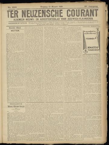 Ter Neuzensche Courant. Algemeen Nieuws- en Advertentieblad voor Zeeuwsch-Vlaanderen / Neuzensche Courant ... (idem) / (Algemeen) nieuws en advertentieblad voor Zeeuwsch-Vlaanderen 1929-03-15