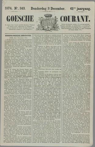 Goessche Courant 1874-12-03