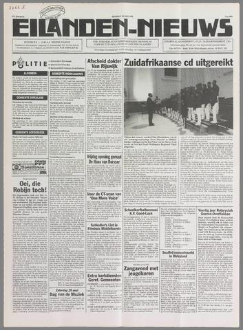Eilanden-nieuws. Christelijk streekblad op gereformeerde grondslag 1995-05-16