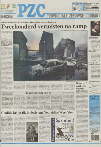Provinciale Zeeuwse Courant 2000-05-15