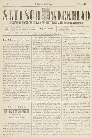 Sluisch Weekblad. Nieuws- en advertentieblad voor Westelijk Zeeuwsch-Vlaanderen 1874-05-29