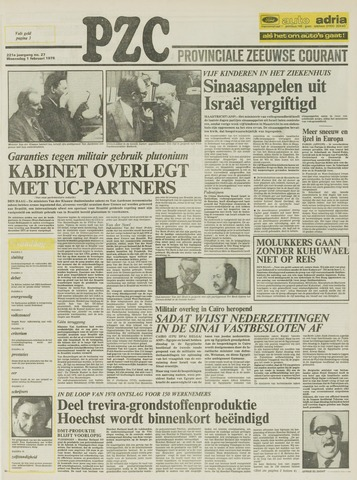 Provinciale Zeeuwse Courant 1978-02-01