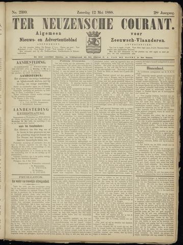 Ter Neuzensche Courant. Algemeen Nieuws- en Advertentieblad voor Zeeuwsch-Vlaanderen / Neuzensche Courant ... (idem) / (Algemeen) nieuws en advertentieblad voor Zeeuwsch-Vlaanderen 1888-05-12