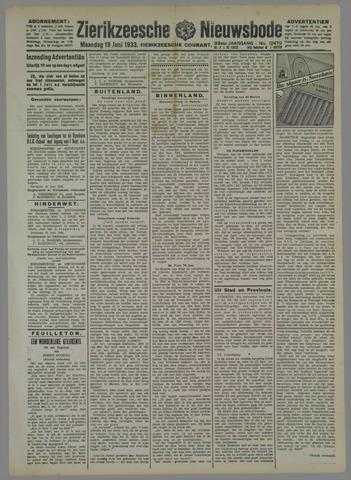 Zierikzeesche Nieuwsbode 1933-06-19