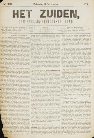 Het Zuiden, Christelijk-historisch blad 1877-11-03