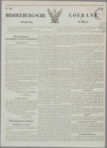 Middelburgsche Courant 1854-03-16