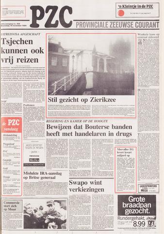 Provinciale Zeeuwse Courant 1989-11-15