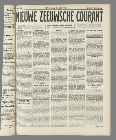 Nieuwe Zeeuwsche Courant 1912-07-04