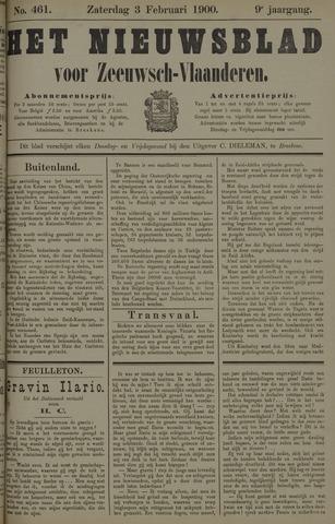 Nieuwsblad voor Zeeuwsch-Vlaanderen 1900-02-03
