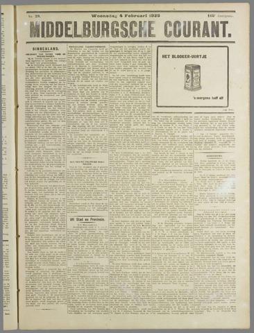Middelburgsche Courant 1925-02-04