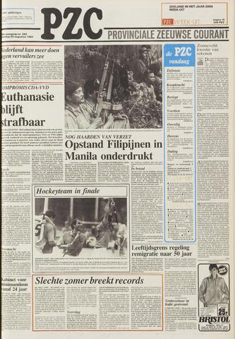 Provinciale Zeeuwse Courant 1987-08-29