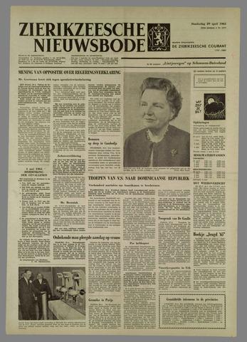 Zierikzeesche Nieuwsbode 1965-04-29