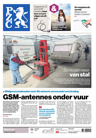 Provinciale Zeeuwse Courant 2018-03-27