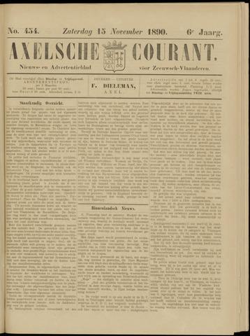 Axelsche Courant 1890-11-15