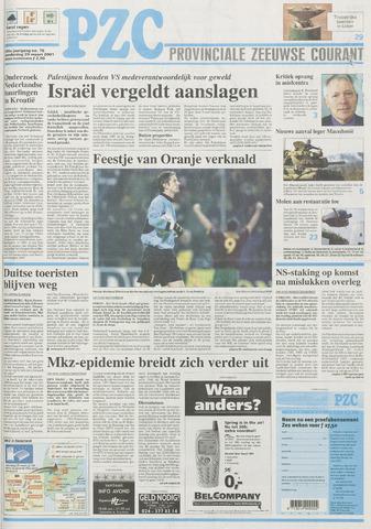 Provinciale Zeeuwse Courant 2001-03-29