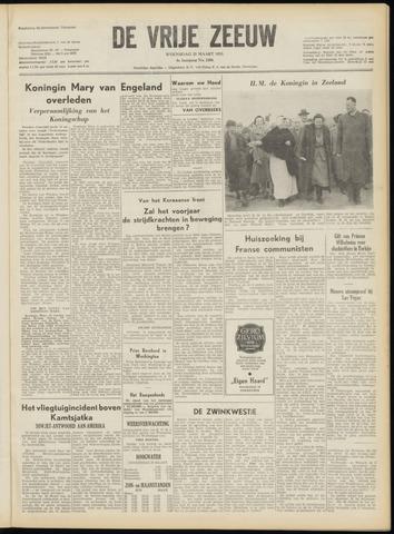 de Vrije Zeeuw 1953-03-25