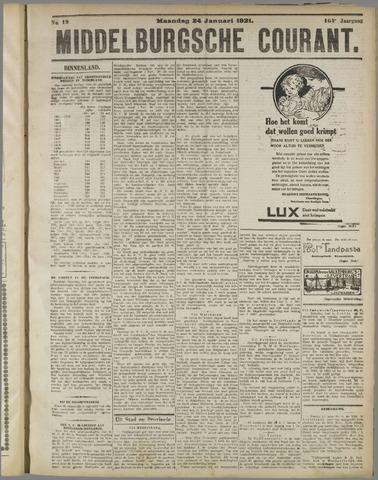 Middelburgsche Courant 1921-01-24