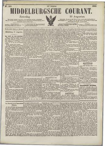 Middelburgsche Courant 1899-08-12