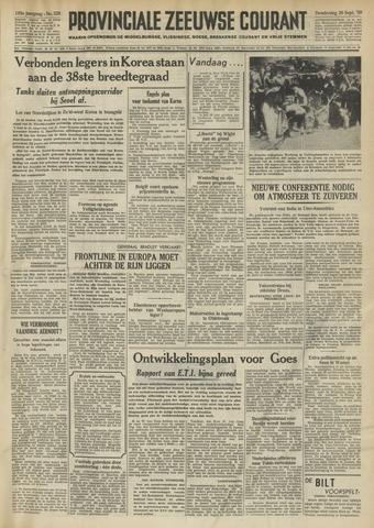 Provinciale Zeeuwse Courant 1950-09-28