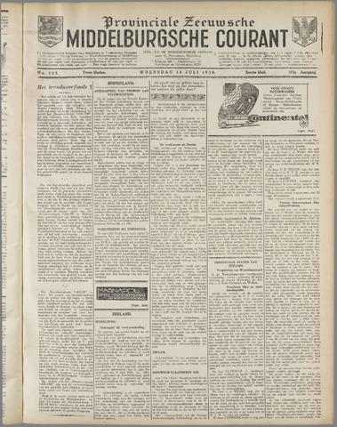 Middelburgsche Courant 1930-07-16