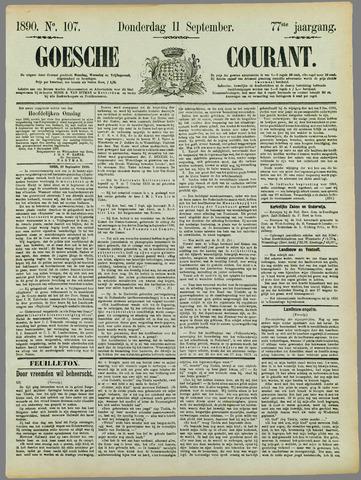 Goessche Courant 1890-09-11