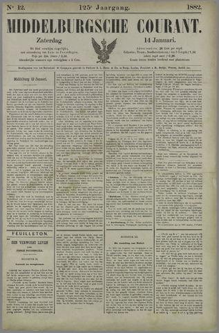 Middelburgsche Courant 1882-01-14